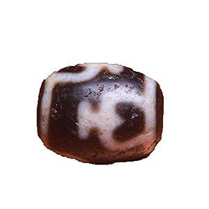 Dzizhu Natürlicher tibetischer echter Achat Original Stein Wassermann Dzi Perlen Zubehör Armbänder Diamanten Xingyue Xingyue Bodhi Taille