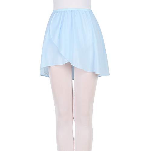 Bezioner Falda de Abrigo la Danza de Ballet Gasa con Cinturilla Elástica...