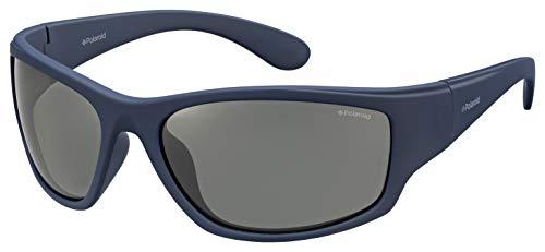 Polaroid PLD 7005/S C3 863 63 Gafas de Sol, Azul (Bluette/Grey Pz), Hombre