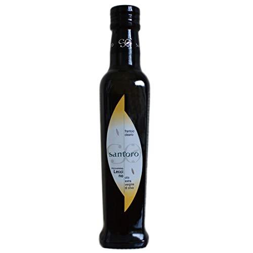 エキストラヴァージンオリーブオイル 有機 イタリア産 Leccino レッチーノ イタリアグルメ評価本常連のサントーロ農園 250ml オーガニック