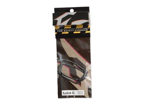 31aZz59r6pL - Edge 9420 Kazbek XL Self Adhesive EVA Foam Gasket Kit with Anti-Fog Spray, Fits All Style, Easy to Apply, Wide Fit, Black
