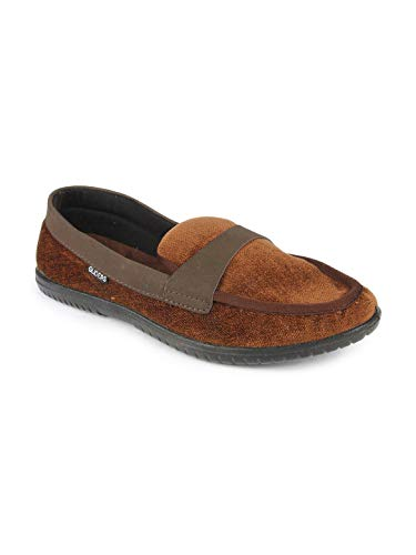 Gliders (From Liberty) 2159009160400 Men's Brown Canvas Casual Boat Shoes - 6.5 UK