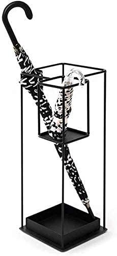 WYRKYP Paragüero de Metal, Decoración de Escritorio, Organizador Simple 12.2X12.2X23.6In