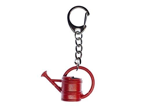 Miniblings Gießkanne Kanne Garten Schlüsselanhänger - Handmade Modeschmuck I Anhänger Schlüsselring Schlüsselband Keyring - Gießkanne Kanne Garten