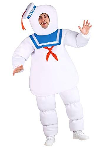 Disfraz de Cazafantasmas de talla grande - blanco - 3X