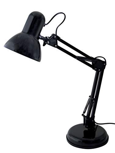 Velamp TL1207-N Charleston Xl Lampada da Tavolo