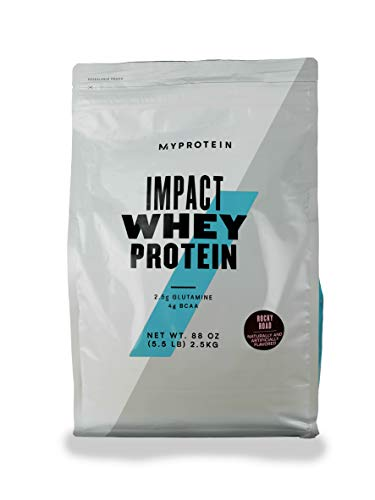Myprotein® Impact Whey Protein Powder, Salted Caramel, 2.2 Lb (40 Servings)