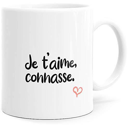 Mug Humour Je t'aime Connasse Tasse Message drôle. Idée...