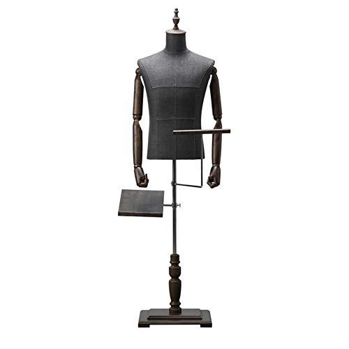 Size : L LPD-Maniqu/íes Femenino De Sastre Maniqu/í Busto Perchero De Vestido for La Exhibici/ón De La Joyer/ía del Vestido De La Tienda De Ropa con Rueda Universal , 3 Tama/ño