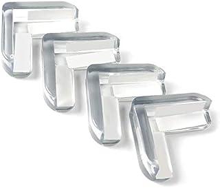 Forma de L Hysstore 12 Piezas Protector de Esquina Protecci/ón para Bordes Transparente Bebes Protege Esquinas para Protege a Los Ni/ños,Anciano