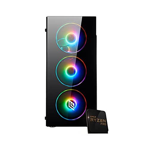 Pc gaming Ryzen 5 3400G 4.20 Ghz Turbo,SSD M.2 500 GB,Ram 16Gb 3200Mhz ,450w 80 Plus ,Wi Fi 300Mbps , Computer da Gaming,Windows 10 Professional