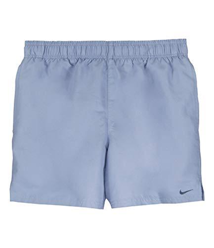 Nike Herren Badeshorts Badehose Beach Shorts Volleyshorts NESS9502, Farbe:Blau, Wäschegröße:S, Artikel:-498 Indigo Fog