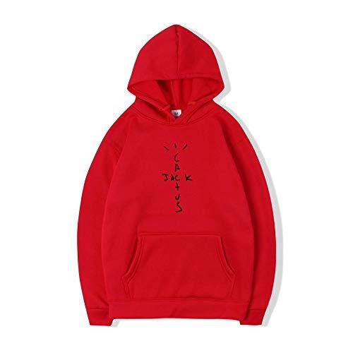 N-N Hoodies Hip Hop Hoodies Cactus Print Funny Women Men Hooded Sweatshirt Casual PulloverApply to Sports...