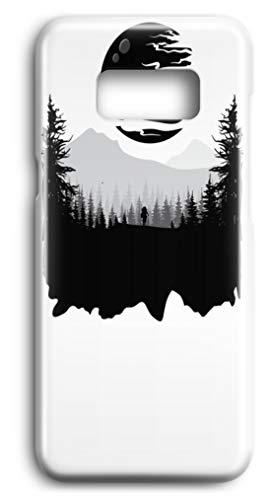 generisch Wanderer auf fremdem Planeten - Außerweltliche Szene - Case -Samsung S8-Weiß