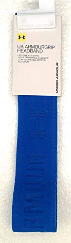 Under Armour cinta brazo Our Grip Wide HB, mujer, Fitness Stirnband Armourgrip Wide Hb, Ultra Blue, Talla única