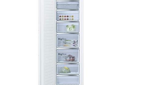 Bosch GIN81ACF0 Serie 6 - Congelador empotrado (A++, 177,5 cm de altura, 243 kWh/año, 211 L, NoFrost y BigBox)