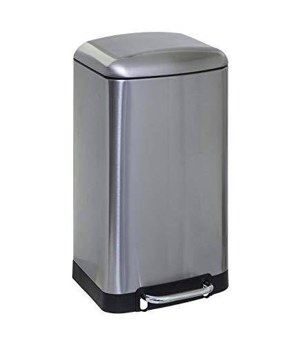 Cubo de basura de metal 30 l Ariane Inox