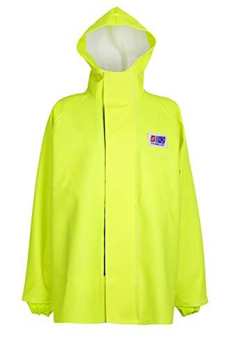 Stormline Stormtex 248Y Midweight PVC Hi-Viz wasserdichte Arbeitskleidung für Angeln, Bau, Outdoor-Arbeit, Gelb Gr. XX-Large, gelb