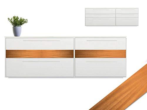 Mahagoni Furnier mit Schmelzkleber zum Aufbügeln, Tisch, Möbel, Sideboard