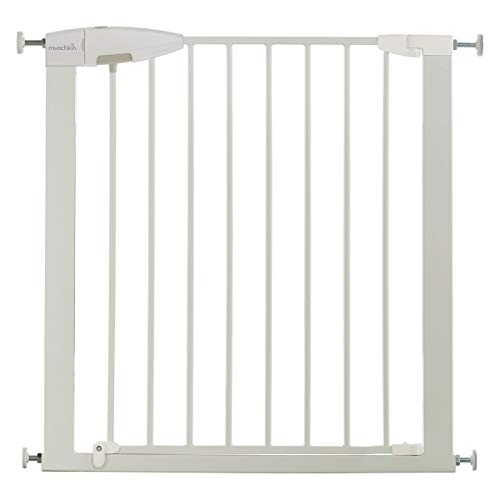 Munchkin Easy Loc - Barrera de seguridad, color blanco