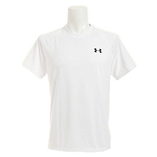 (アンダーアーマー)UNDER ARMOUR UAテックヒートギアTシャツ(トレーニング/Tシャツ/MEN)[MTR3764]WHT XL(日...