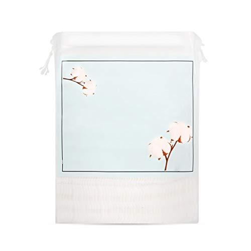DUOER HOME Démaquillants pour Le Visage 200 pièces de Coton nettoyant dissolvant pour Le Visage nettoyant Humide épais Coton Tampon de Coton Double Face (Color : Pink)