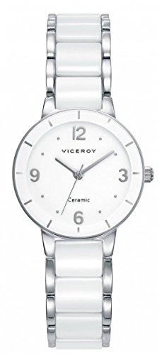 Viceroy Reloj Analogico para Mujer de Cuarzo con Correa en Cerámica 471044-05
