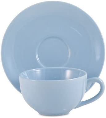 Powder Blue Classic Teacup and 1. Set Saucer Today's only Trust of