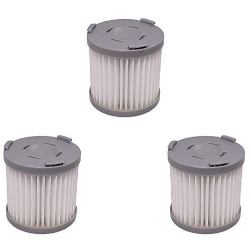 NEYOANN 3 unids mano aspiradora filtro HEPA para JIMMY JV51 JV53 JV83 Aspiradora-Gris