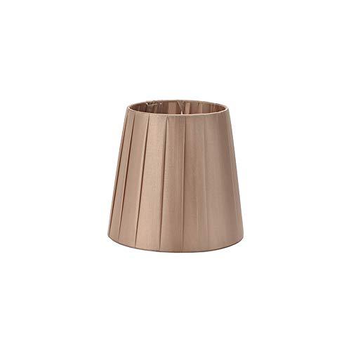 DULEE 5,5 inch clip on/E14 schroef lampenkap voor kaars kristal kroonluchter wandlamp Droplight kleine lampenkappen Clip on:Top:10cm x Height:13cm x Bottom:14cm champagne