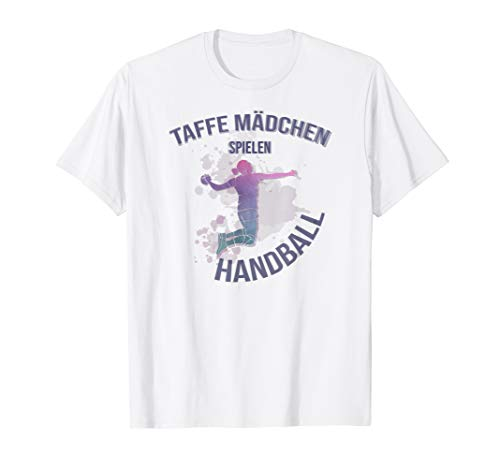 Handball Mädchen Taining Trainer Damen Sport Ball T-Shirt