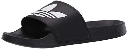 adidas Men's Adilette Lite Slides, core Black/FTWR White/core Black, 4