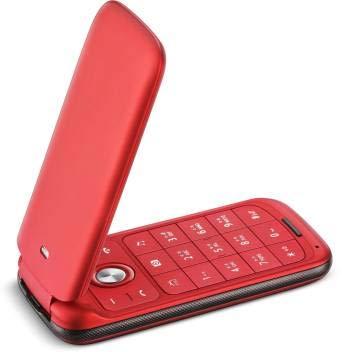 Lava Flip keypad Mobile Phone