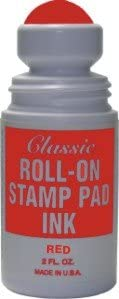 Roll-on Mesa Mall Stamp Pad - Max 85% OFF Red Ink