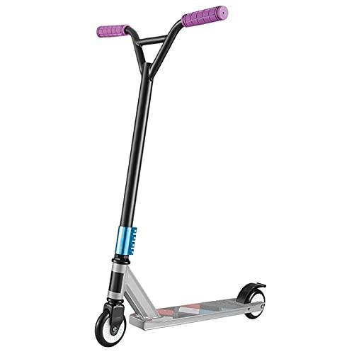 PRO STUNT SCUNT SCOOTER Mejor nivel de entrada Truco Scooter con ruedas de aleación de aluminio, liviano Freestyle Kick Scooter para principiantes niños 8 años y un adulto adolescentes