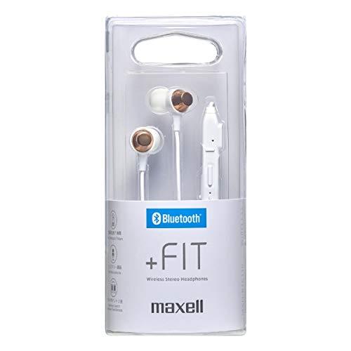 マクセル Bluetooth対応ダイナミック密閉型カナルイヤホン(ホワイト)maxell 「+Fit」シリーズ MXH-BTC110WH