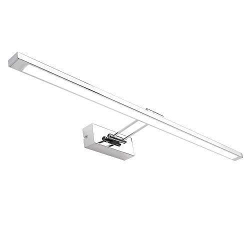Klighten 12W L/ámpara LED de pared L/ámpara de espejo Aplique de Ba/ño LED 4500K Blanco Neutro para Espejo Muebles de Maquillaje Aparato Montado en la Pared
