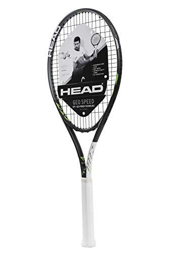HEAD Erwachsene Tennisschläger Geo Speed - Vorbesaiteter Kopf Light Balance 27,5 Zoll Schläger - 4 3/8 Zoll Griff