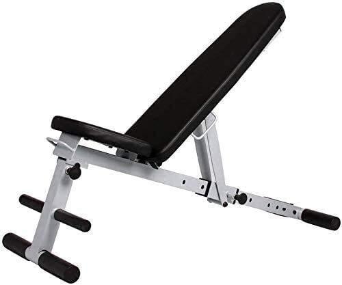 YLCJ Verstellbare Gewichtsbank Faltbare Trainingsbank Kurzhantelbank Verstellbare Sit Up Incline Abs Bänke Flat Fly Weight Press Fitness