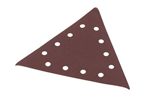 5 Schleifblätter dreieckig G100 mittel - 285 x 285 x 285 mm für Trockenbauschleifer