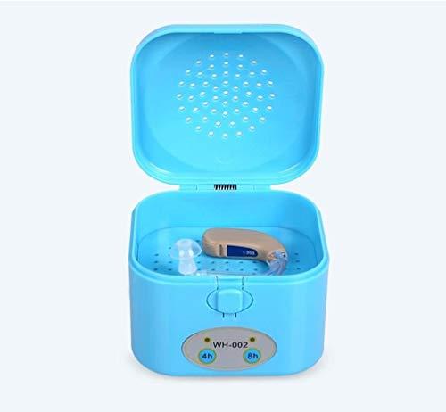 QMJYP Hearing Aid Luftentfeuchter - 4/8 Stunden Timer Elektronischer Trockner Tragbarer Trockner Hörgerät Trocknen Box