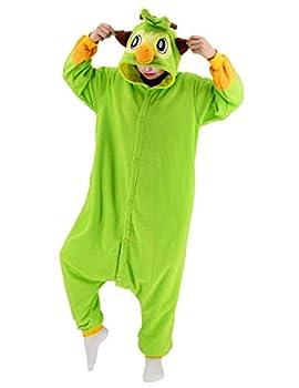 vavalad Adult Grookey Plush Onesie Pajamas Cosplay Halloween Christmas Animal Homewear Sleepwear Jumpsuit Costume Women Men…  New Grookey Onesies S-Height 4 9 -5 3