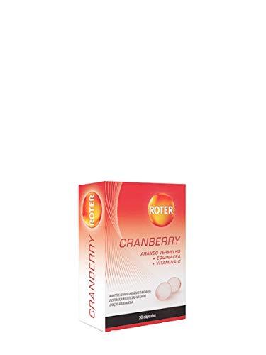 ROTER Cranberry 30cap, Negro, Estandar