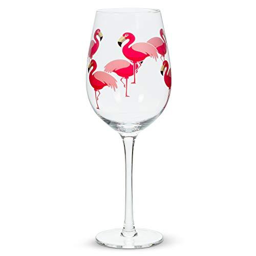 Abbott Collection 27 GOB - Copa de flamenco, 9,5' de alto (14oz), color rosa