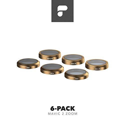 Polar Pro M2Z-CS-6PK - filtre 6-Pack - filtres pour DJI Mavic 2 Zoom - cinéma série Mavic 2...
