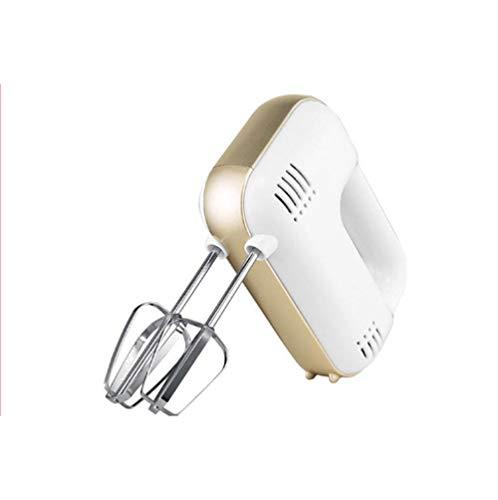 Speed Handmixer, Draagbaar Met Turbo Knop Functie en Roestvrijstalen Hulpstukken Elektrische Eierklopper Handheld Huishoudelijke Noedel Mini Melkopschuimer