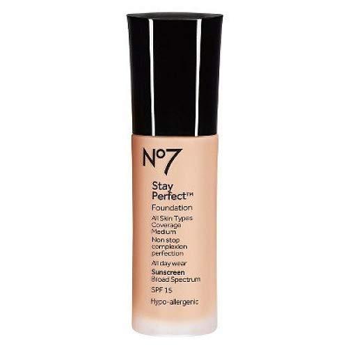 No7174; Stay Perfect Foundation SPF 15 Calico - 1oz Calico