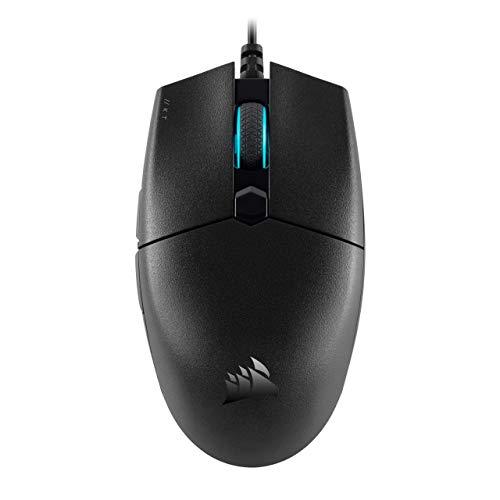 Corsair Katar Pro Ultra-Light Optical Gaming Mouse, Backlit RGB LED, 12400 DPI - Black