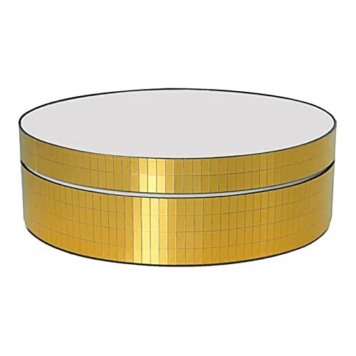 LOVIVER Soporte de exhibición giratorio, giradiscos de fotografía de uso USB para pasteles de joyería, impresiones de resina de curado en 3D - dorado