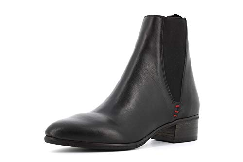 poesie veneziane scarpe POESIE VENEZIANE Scarpe Donna Stivaletti GBACT2418 Nero Taglia 37 Nero